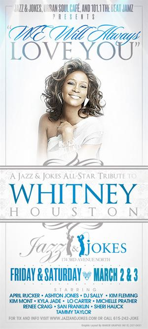 jazz jokes we will always love you an all star tribute to whitney houston - Whitney Houston Have Yourself A Merry Little Christmas