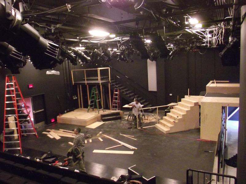 TeamGreenAdventures.com - Theatre Set Building Workshop
